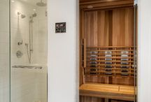 Badkamer douche stoom sauna