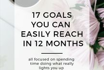 SELF IMPROVEMENT Goals & Habits