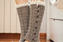 Leg warmers and spats / Patterns for leg warmers & spats
