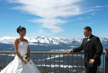 "Heavenly Gondola Weddings in Lake Tahoe / ""Say I Do With A View"" at the world's most beautiful ski resort with our Heavenly Gondola Wedding. With unparalleled views from the top of the world, this spectacular Lake Tahoe wedding venue offers a variety of exciting ways to get married on skis or on foot."
