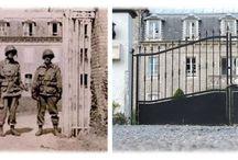 chateau belleneau / Castle of Belleneau where Colonel Jumpy Johnson 502 Landed