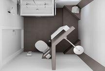 Badkamer / toilet inrichting