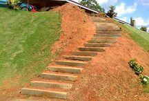 escadaria morro