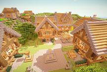 Minecraft villages