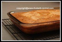 Rhubarb Recipes / by Debra Thommen Reynolds