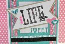 CTMH July 2015 SOTM / CTMH's Life Is Wonderful Stamp Set.