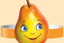 Coronite fructe si legume
