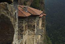 Mountain Monasteries.