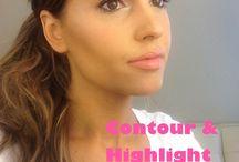 Highlighting and Contouring / The Kim Kardashian look