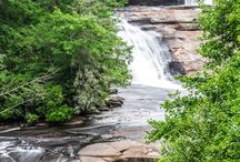 DuPont State Forest, NC: top hikes + waterfalls / Explore stunning, towering, tumbling waterfalls and rocky mountain summits at DuPont State Recreational Forest, one of western North Carolina's top hiking and mountain biking destinations.