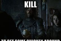 Game of thrones / The Hound and Chicken