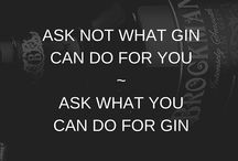 Ginspiration / A yawn is a silent scream for gin...