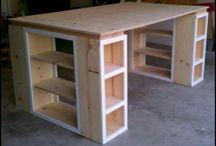 Skæve skriveborde