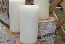 White Birch Pillars