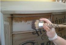 Annie Sloan waxing tips