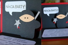 Ninja Party / by Kyndra Gurbach