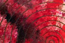 PINTURA ABSTRACTA / Cuadros pintados por NURIA PARRADO SARANDESES