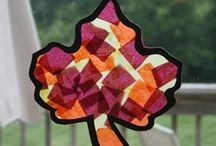 fall kids crafts / by Carolee Litton