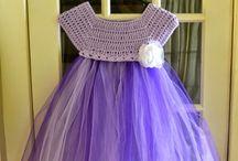 Vestidos de nena con tul