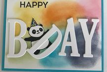 Cards - Party Pandas