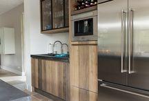 Ombouw koelkast cv ketel en wasautomaat