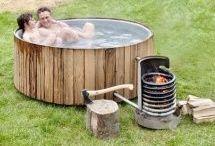 Наружные ванны