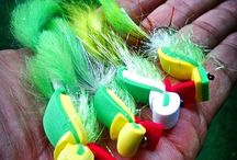 bass hunting flies / fly fishing for bass with bugs and streamers