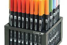 lettering brush