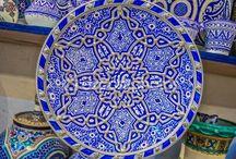 Ceramica / Pratos pintados a mão