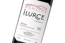 Ilurce / Wine labels design for Ilurce - wine producer from Rioja in Spain. Project was commissioned by Polish importer Kondrat Wina Wybrane.