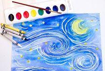 художники изучают дети
