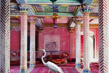 colorful interiors / LeLau Palace