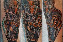 Tattoo's by Angelo Tiffe / Angelo's Tattoo Portfolio