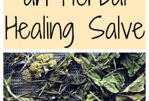 How to make an herbal Healing salve