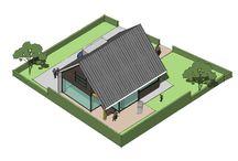 Moderne woningstijl / Een nieuw ontwerp gemaakt voor een prachtige locatie in Zeeland vlakbij het strand