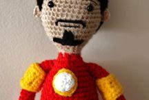 Superhero knit and crochet