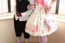 Ouji & Lolita Couples / Lovely couples wearing Lolita Fashion and Prince Fashion~ Lolita x Lolita, Lolita x Ouji and Ouji x Ouji