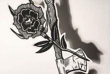 Ax tattoo