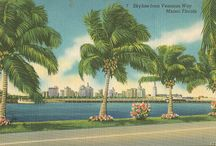 Authentic Miami / Authentic Florida visits the authentic and classic Miami gardens, hotels, mansions, pools, neighborhoods and beaches