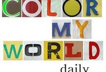 Technicolor World~~~ / by Maria Visconti