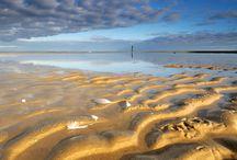Strand bij Schoorl / Het strand van Schoorl is alleen te voet of per fiets te bereiken. Het is er daarom altijd lekker rustig