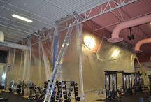 Commercial Painting Project - Spokane WA / Commercial Painting Project re-branding the new MUV Fitness in Spokane Washington. This project is a complete interior including the structural ceiling. The facility is open for business and we work at night. By the time they open in the morning there isn't even a footprint left by us.    #commercialpaintingcontractor