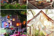 - Boho outdoors -