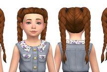 Sims4 cc hair kids