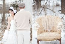 Winter Vintage Wedding / Inspirations for a wintertime wedding in vintage style.