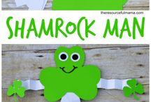 St. Patrick's day art.