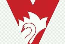 Sydney swans decal vinyl stickers for cars