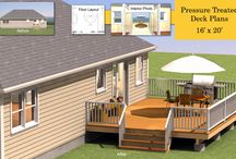 Deck Plans / by Proven Helper Handy How-to's