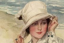 Art deco y Art Nouveau Pintura,Artes Graficas,Etc...