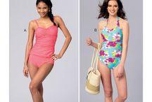 Sewing Patterns I Own - swim wear